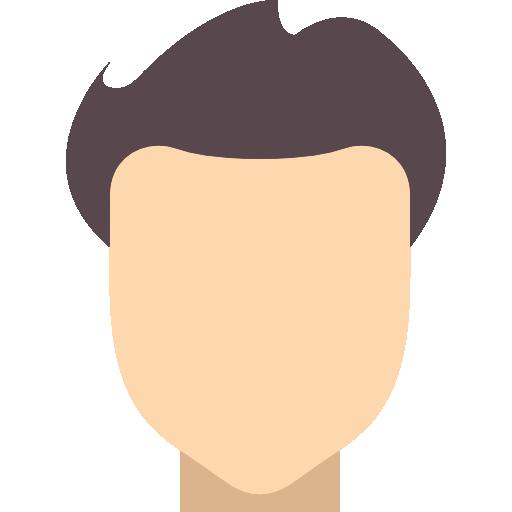 Men's hair icon